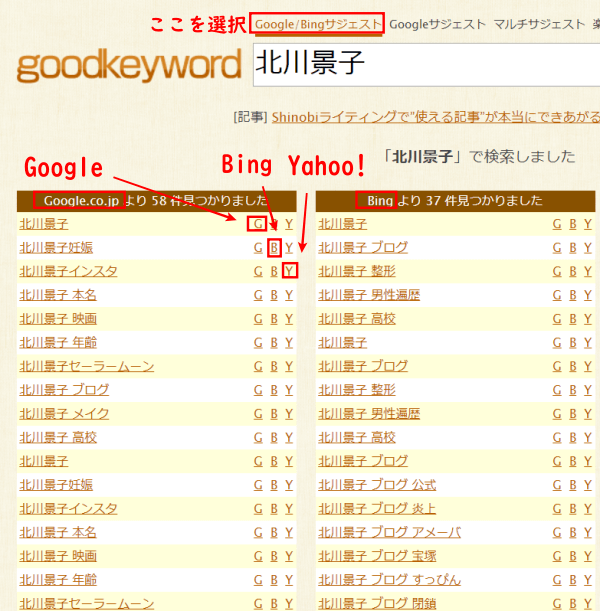 goodkeyword北川景子