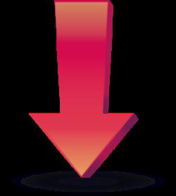 下向き矢印